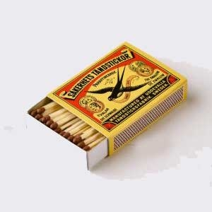 Zwaluw long pipe matches 5 boxes