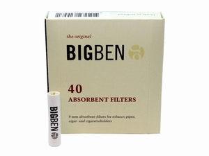 Big Ben 9mm filters 40 stuks