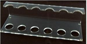 Acryl Pijpenstandaard voor 6 pijpen