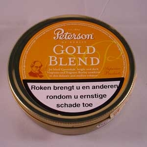Peterson Gold Blend  Blik 50 gram