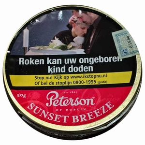Peterson Sunset Breeze  Blik 50 gram