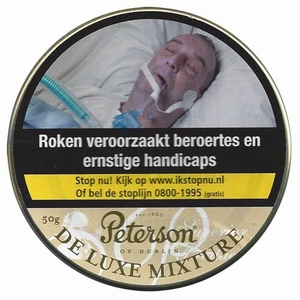 Peterson de luxe mixture  Blik 50 gram