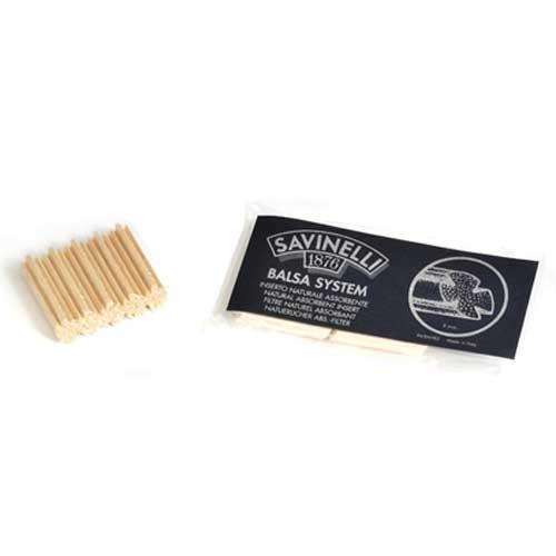 Savinelli balsa filters 9 mm 15 stuks