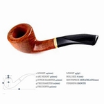 Savinelli Virginia Smooth 6mm balsafilter