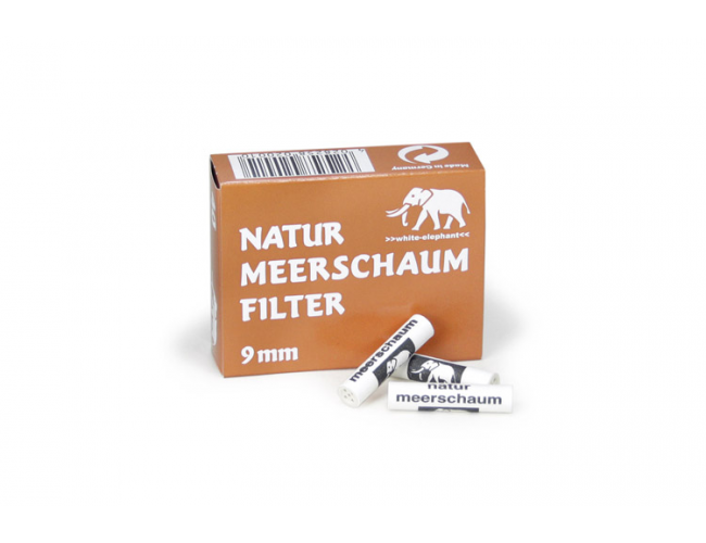Elephant 9mm meerschuim filters 40 stuks
