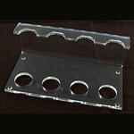Acryl Pijpenstandaard voor 4 pijpen